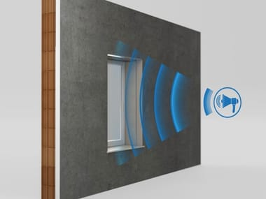 Special system for acoustic correction SILENT LINE