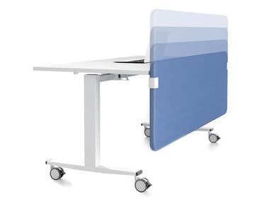 Painel divisor fono-absorvente de mesa SILENZIO | Painel divisor de mesa