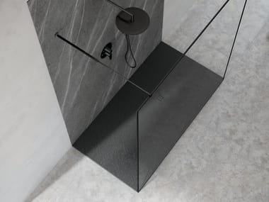 Anti-slip Silexpol® shower tray SILEX WORLD