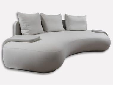 Sofá curvo de tecido SILHOUETTE