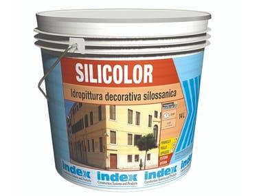 Idropittura decorativa silossanica SILICOLOR