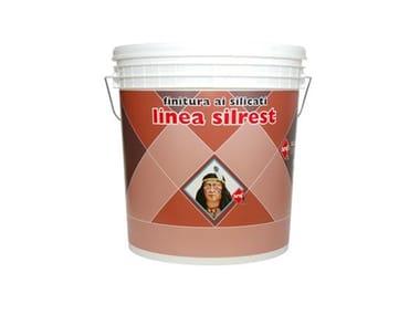 Intonaco minerale ai silicati SILREST INTONACHINO 0,5 - 1 - 1,2 MM