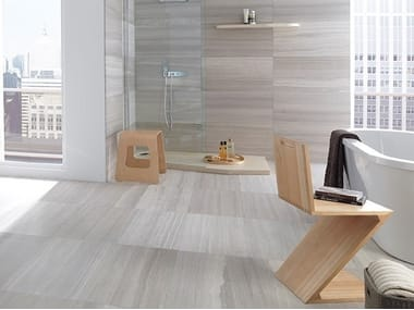 Travertine wall/floor tiles SILVER WOOD