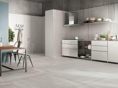 Wall/floor tiles with metal effect ACIDIC SILVER