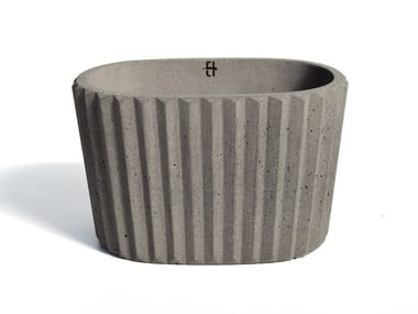Portavaso in cemento SIMAN | Vaso