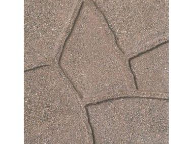 Pavimenti per esterni SIMIL PORFIDO Sabbiato Cuoio