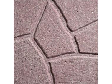 Pavimenti per esterni SIMIL PORFIDO Sabbiato Rosso