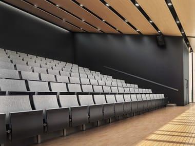 Siège pour auditorium en tissu SIMO