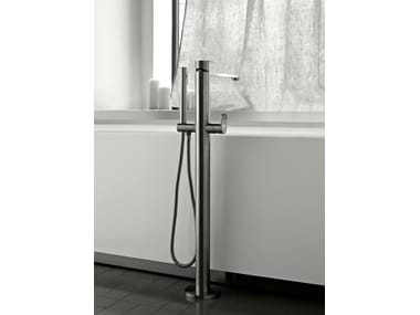 Floor standing bathtub mixer with hand shower SINOX | Floor standing bathtub mixer