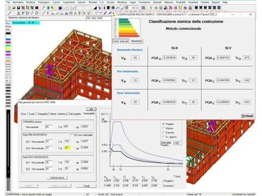CAD-integrated structural calculation software SISMABONUS