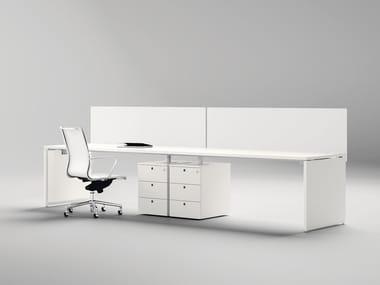 Office workstation / office desk SISTEMA 28 - EXTRALONG