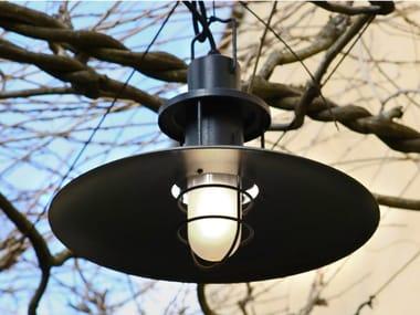 Lampada a sospensione per esterni in resina e alluminio SISTEMA POLO | Lampada a sospensione per esterno in resina