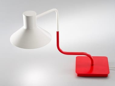 LED adjustable iron table lamp SISTER | Iron bedside lamp