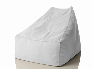 Fabric armchair with removable cover SITE | Armchair with removable cover