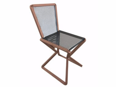 Perforated metal chair SITT_IN