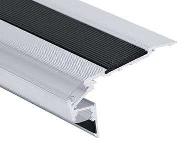 Profilo paragradino in alluminio con LED SK