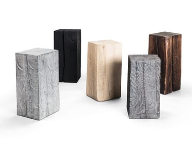 Wooden side table SK02 CUBE