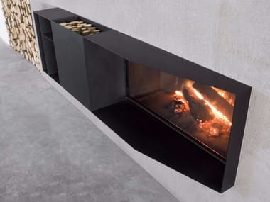 Wood-burning Boiler fireplace SKEMA