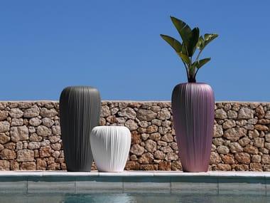 Vaso da giardino in Poleasy® SKIN