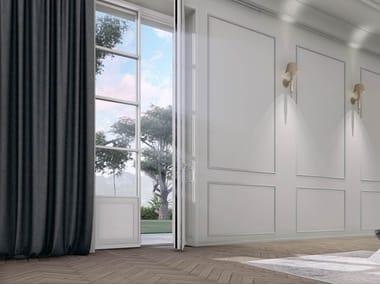 Porta-finestra a battente in legno SKYLINE CLASSIC