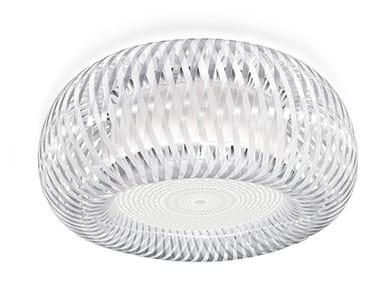 Lampada da soffitto a LED in policarbonato SLAMP - KALATOS
