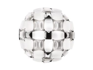 Ceiling lamp SLAMP - MIDA White/Platinum