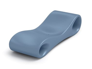 Plastic spa bed SLICE