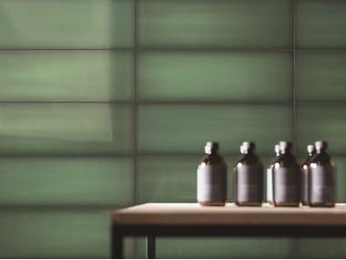 Pavimento/rivestimento in vetro per interni SLIDE