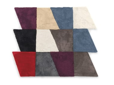 Synthetic fibre rug SLIDE | Rug