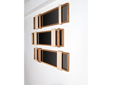 Framed wall-mounted mirror SLIDER