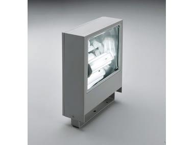 Proiettore per esterno fluorescente in alluminio pressofuso SLIM F.8298