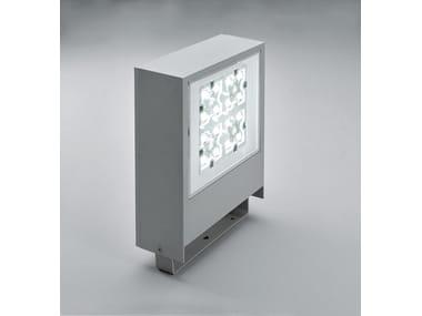 Proiettore per esterno a LED in alluminio pressofuso SLIM F.8302
