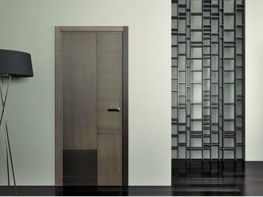 Hinged wooden door SLIM