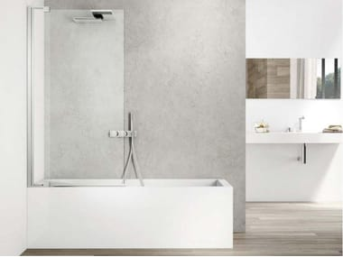 Glass bathtub wall panel SLIM SVSL