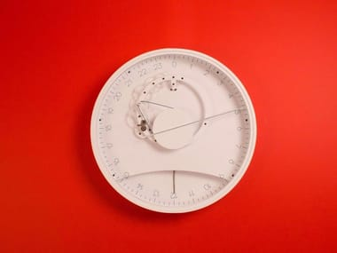 Wall-mounted plastic clock SLOW