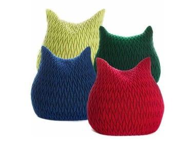 Pouf in lana SLUMBER | Pouf