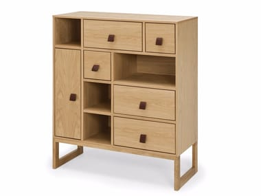 Highboard with drawers SLUSSEN | Highboard