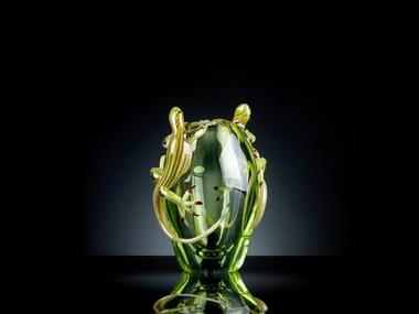 Glass vase SMALL 2 GECKOS