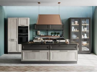 Cucina componibile con isola SMART 4