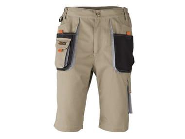 Pantaloncino con rinforzi SMART CORTO BEIGE
