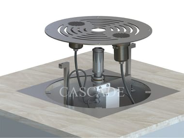 Sistema modulare per fontane a pavimento SMART DRY SYSTEM