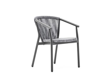 Garden chair with armrests SMART | Garden chair