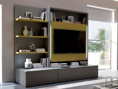 Sectional TV wall system SMART LIVING