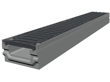 Concrete Drainage channel and part SMART PRO 100 H90 | Drainage channel and part