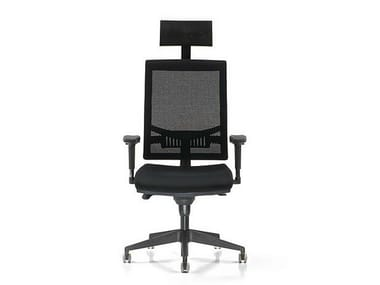 Executive chair with 5-spoke base with armrests SMART | Executive chair