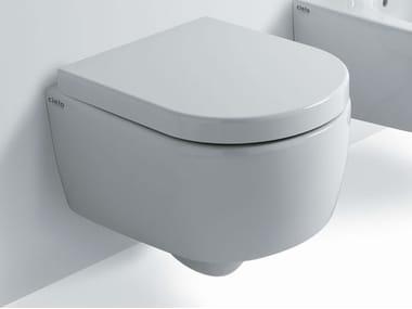 Wall-hung ceramic toilet SMILE MINI | Wall-hung toilet