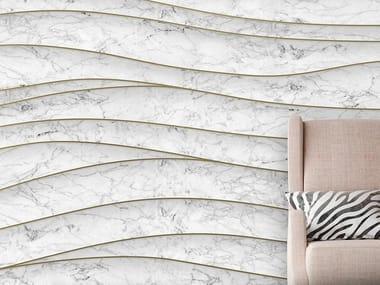 Papel de parede com efeito mármore SMOOTH