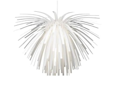 LED polycarbonate pendant lamp SNOWFLOWER | Pendant lamp