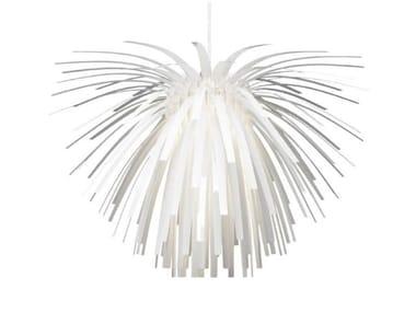 Lampada a sospensione a LED in policarbonato SNOWFLOWER | Lampada a sospensione