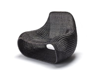 Rattan armchair SNUG